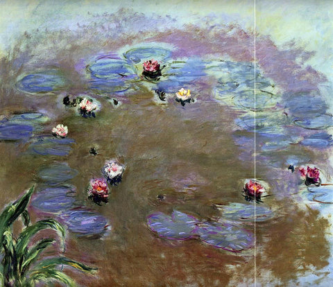 Claude Oscar Monet Water-Lilies (detail) - Hand Painted Oil Painting