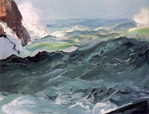 George Wesley Bellows Wave - Hand Painted Oil Painting