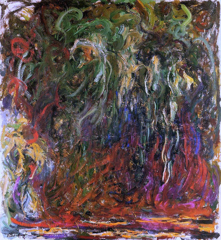 Claude Oscar Monet Weeping Willow, Giverny - Hand Painted Oil Painting