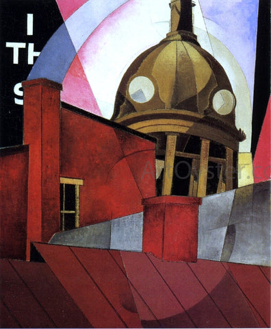 Charles Demuth Welcome to Our City - Hand Painted Oil Painting