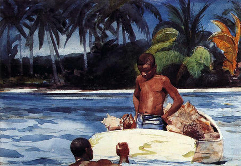Winslow Homer West India Divers - Hand Painted Oil Painting