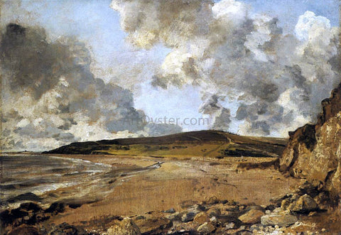 John Constable Weymouth Bay, with Jordan Hill - Hand Painted Oil Painting