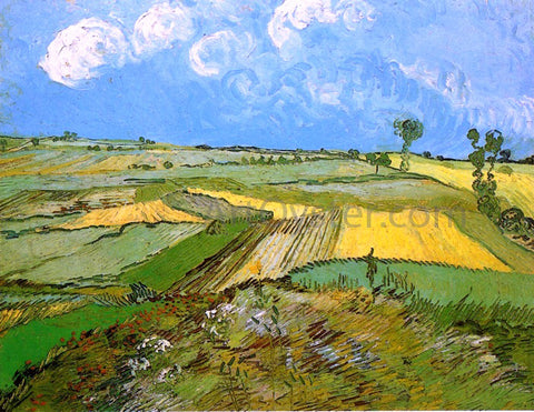 Vincent Van Gogh Wheat Fields at Auvers under a Cloudy Sky - Hand Painted Oil Painting