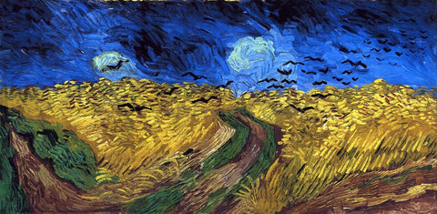 Vincent Van Gogh Wheatfield with Crows - Hand Painted Oil Painting