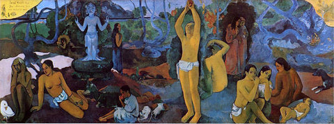 Paul Gauguin Where do We Come From? What are We Doing? Where are We Going? - Hand Painted Oil Painting