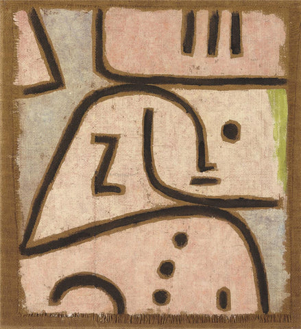 Paul Klee Wi in Memoriam - Hand Painted Oil Painting