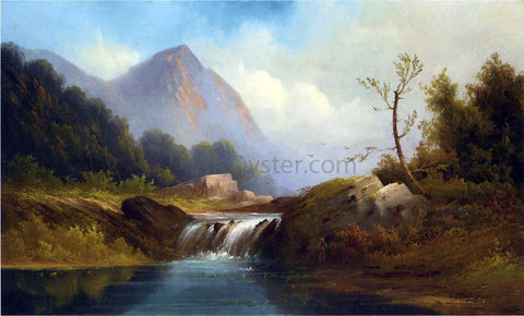 Robert Scott Duncanson Wilderness Idyll - Hand Painted Oil Painting