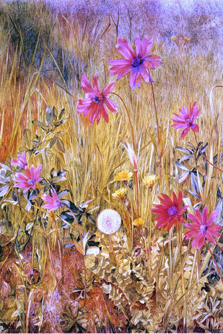 Henry Roderick Newman Wildflowers - Hand Painted Oil Painting