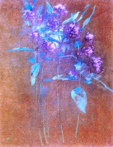 John Twachtman Wildflowers - Hand Painted Oil Painting
