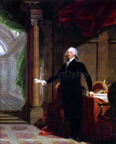 Gilbert Stuart William Bingham - Hand Painted Oil Painting