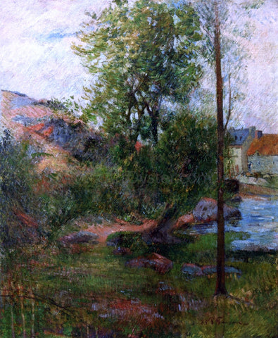 Paul Gauguin Willow by the Aven - Hand Painted Oil Painting