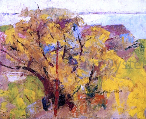 Charles Webster Hawthorne Willows - Hand Painted Oil Painting