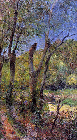 Paul Gauguin Willows - Hand Painted Oil Painting