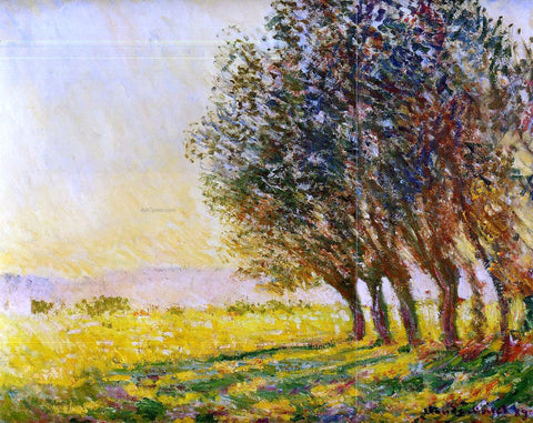 Claude Oscar Monet Willows at Sunset - Hand Painted Oil Painting
