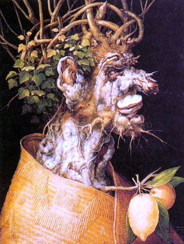 Giuseppe Arcimboldo Winter - Hand Painted Oil Painting