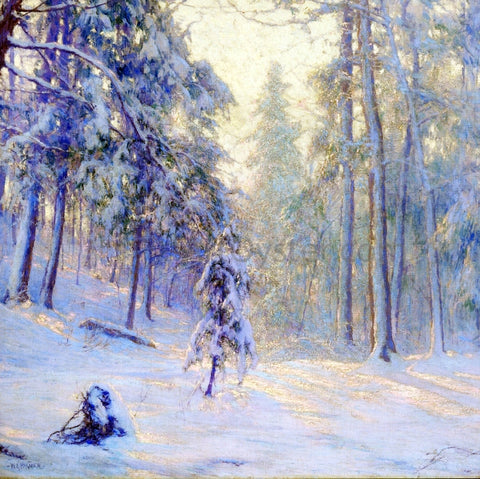 Walter Launt Palmer Winter Haze - Hand Painted Oil Painting