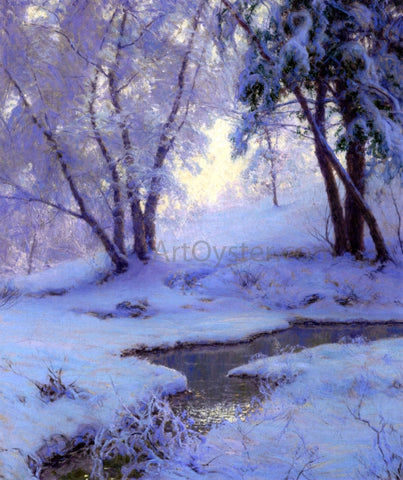 Walter Launt Palmer Winter Landscape - Hand Painted Oil Painting