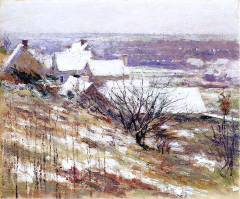 Theodore Robinson Winter Landscape - Hand Painted Oil Painting