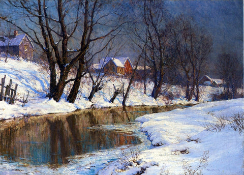 Walter Launt Palmer Winter Morning - Hand Painted Oil Painting