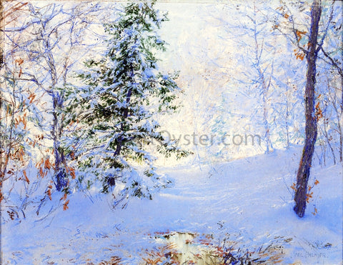 Walter Launt Palmer Winter Study - Hand Painted Oil Painting