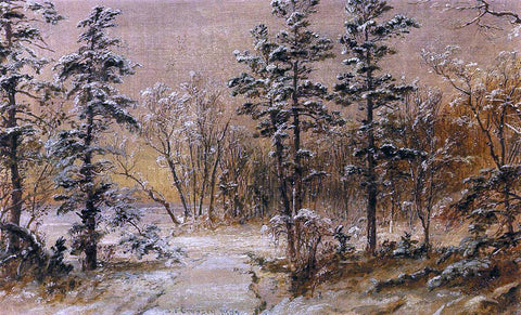 Jasper Francis Cropsey Winter Wonderland - Hand Painted Oil Painting