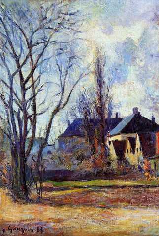 Paul Gauguin Winter's End - Hand Painted Oil Painting