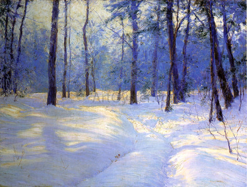 Walter Launt Palmer Winter's Golden Glow - Hand Painted Oil Painting