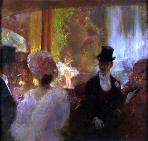 Gaston La Touche Without Title - Hand Painted Oil Painting