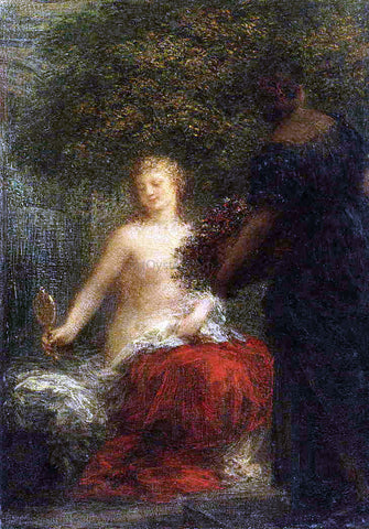 Henri Fantin-Latour Woman at Her Toilette - Hand Painted Oil Painting