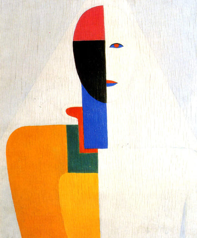 Kazimir Malevich Woman Torso - Hand Painted Oil Painting