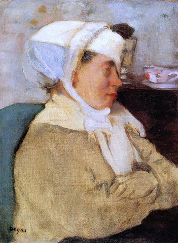 Edgar Degas Woman with a Bandage - Hand Painted Oil Painting