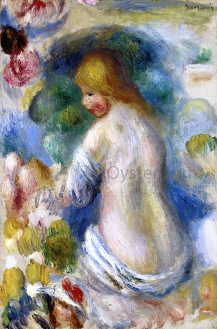 Pierre Auguste Renoir Woman's Nude Torso - Hand Painted Oil Painting