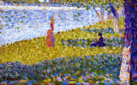 Georges Seurat Women by the Water - Hand Painted Oil Painting