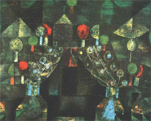 Paul Klee Women's Pavilion - Hand Painted Oil Painting