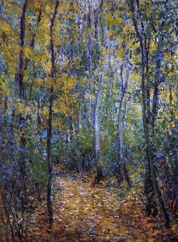 Claude Oscar Monet Wood Lane - Hand Painted Oil Painting