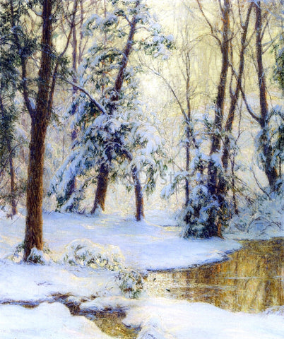 Walter Launt Palmer Woodland Pool - Hand Painted Oil Painting