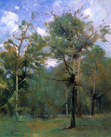 Emil Carlsen Woods - Hand Painted Oil Painting