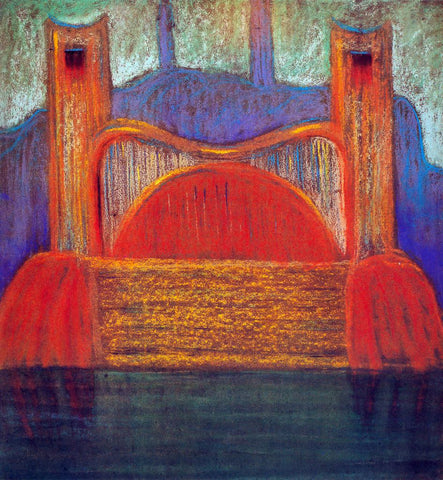 Mikalojus Ciurlionis Wrath I - Hand Painted Oil Painting