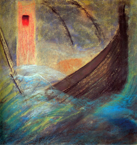 Mikalojus Ciurlionis Wrath II - Hand Painted Oil Painting