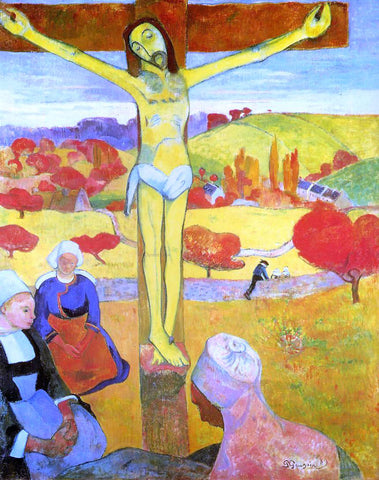Paul Gauguin Yellow Christ - Hand Painted Oil Painting