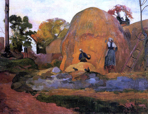 Paul Gauguin Yellow Haystacks (also known as Golden Harvest) - Hand Painted Oil Painting