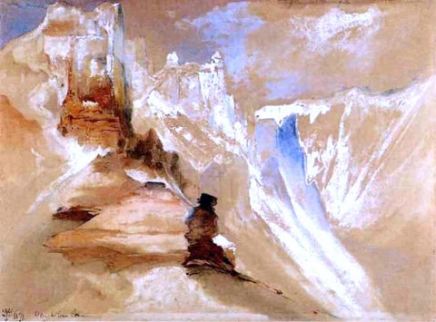 Thomas Moran Yellowstone Canyon - Hand Painted Oil Painting