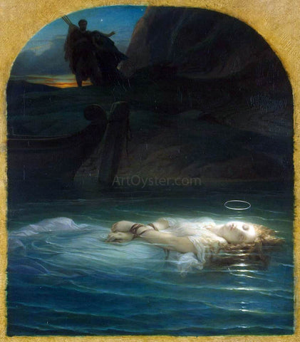 Paul Delaroche Young Christian Martyr - Hand Painted Oil Painting