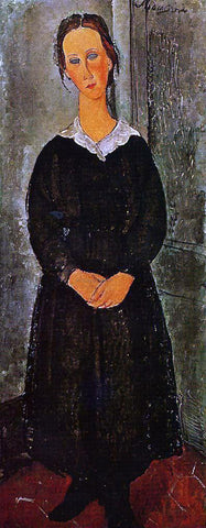 Amedeo Modigliani Young Servant Girl - Hand Painted Oil Painting
