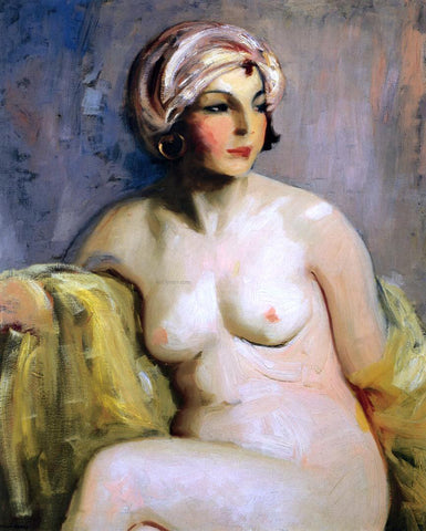 Robert Henri Zara Levy, Nude - Hand Painted Oil Painting