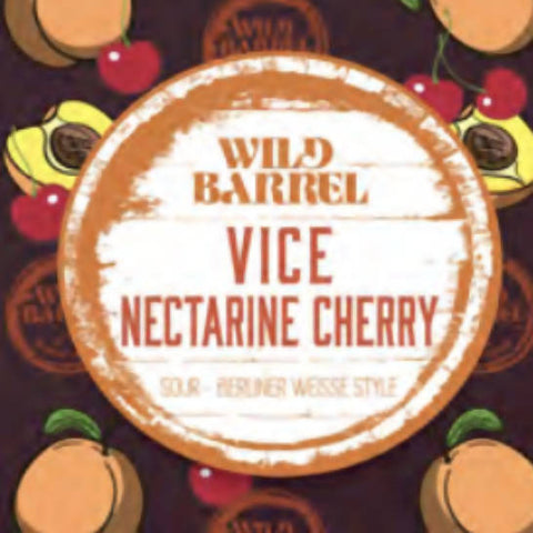 Vice Nectarine Cherry Can/Crowler