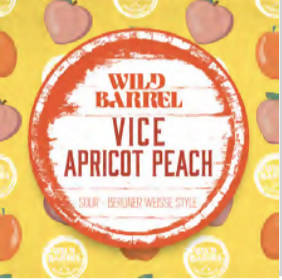 Vice Apricot Peach Can/Crowler