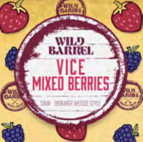 Vice Mixed Berries Can/Crowler
