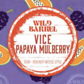 Vice Papaya Mulberry Can/Crowler
