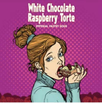 White Chocolate Raspberry Torte Can/Crowler